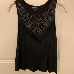 Express Black sleeveless Top size S